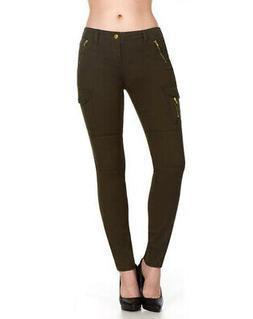 ELITE JEANS Cargo Pants Women | Olive