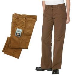 Dickies Carpenter Cargo Pants Straight Leg Womens Work Wear