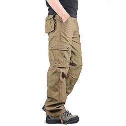 Stunner Men's Outdoor Casual Loose Multi Pocket Cargo Pants