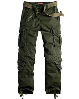 casual military cargo pants
