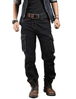 casual motorcycle workwear multi pockets