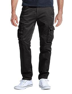 Match Men's Casual Wild Cargo Pants Outdoors Work Wear #6531