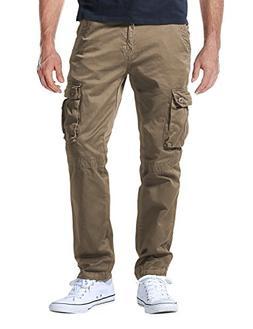 Match Men's Casual Wild Cargo Pants Outdoors Work Wear #6062