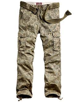 Match Men's Casual Wild Cargo Pants Outdoors Work Wear #6531