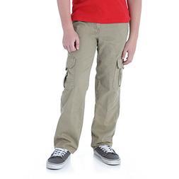 Wrangler Boys' Classic Cargo Twill Pant