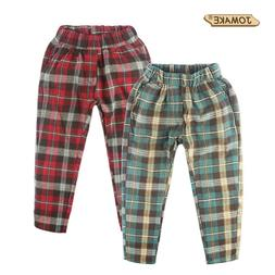 Classic Plaid <font><b>Kids</b></font> <font><b>Pants</b></f