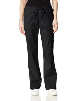 Core Stretch Ladies Drawstring Pant - Black M, Black