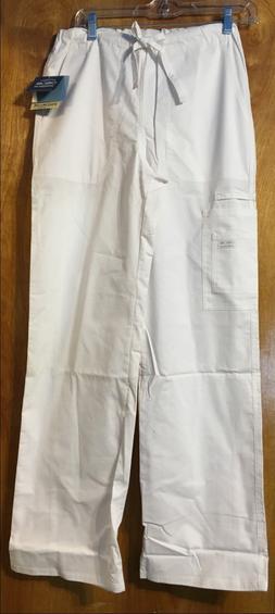 Unisex Cherokee Core Stretch Pant - White XS, White