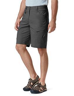 CQR CQ-TXS410-CHC_34 Men's Urban Utility Shorts Work Outdoor