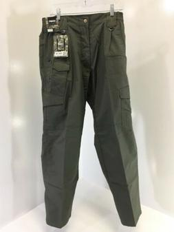 CQR MEN'S TACTICAL CARGO PANTS OLIVE GREEN 34X32 NWT