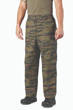 Dark Tiger Stripe BDU Cargo Pants Battle Dress Uniform Propp
