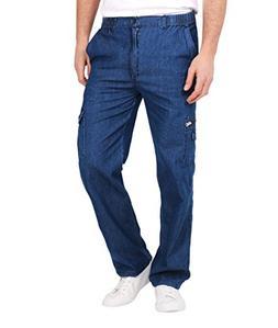 denim combat jeans 8011 dkblu l