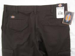 DICKIES Mens Industrial Relaxed Fit Brown Cargo Pant 36x32