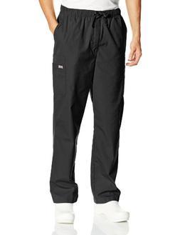 Men's Cherokee Big & Tall Drawstring Pant - Black XL Tall, B