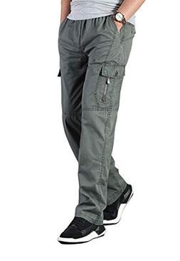 elastic waist loose fit lightweight