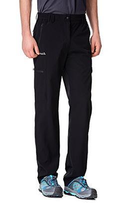 Clothin Men's Elastic-Waist Travel Pant Stretchy Lightweight