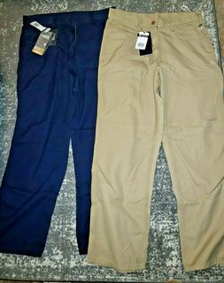 Carhartt Men's Flame Resistant Canvas Pant,Dark Brown,33 x 3