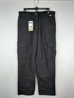 Carhartt Flame Resistant Cargo Pant, Black, Men's 33 x 32