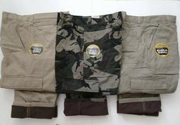 Wrangler Fleece Lined Cargo Pants Relaxed Fit - Work Fishing
