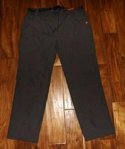 AMERICAN OUTDOORSMAN Fleece Lined Nylon Cargo Pants Raven Gr