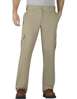 Dickies Men's Flex Twill Cargo Pants Desert Sand 48 30