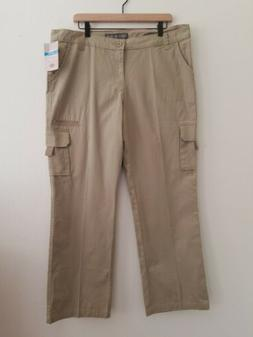 Dickies FP777RDS 16 RG Womens Relaxed Cargo Pant Desert Sand