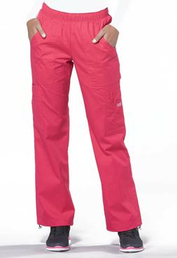 Fruit Punch Cherokee Scrubs Workwear Core Stretch Pull On Ca