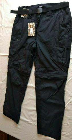 CQR Gears Black Tactical Cargo Pants Mens 34 W  X 30 L - NWT