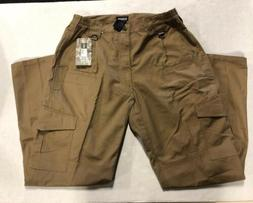 CQR Gears Brown Tan Tactical Cargo Pants Mens 32 W X 32 L -