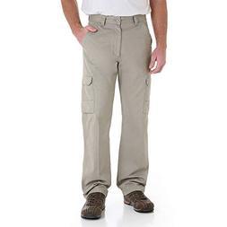 Wrangler Mens Cargo Pants 32W x 30L Burlap beige