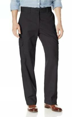 Genuine Dickies Men's Relaxed Fit Black Cargo Pants Size 4