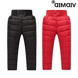 VIDMID Girls Boys Winter <font><b>Pants</b></font> Cotton Th