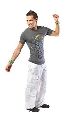 "Kikwear 20"" Glowstick Ninja Cargo Pant 30 White"