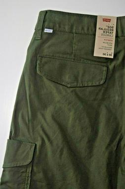 Green Men's Levi's 502 REGULAR TAPER CARGOS  Pants 576700001