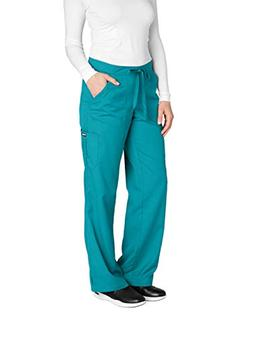 Grey's Anatomy 4245 Cargo Pant Teal S Tall