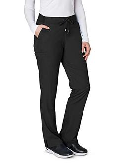 Grey's Anatomy 4277 Straight Leg Pant Black XL Petite