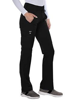 Grey's Anatomy Signature 2218 Trouser Cargo Pant Black XS Pe