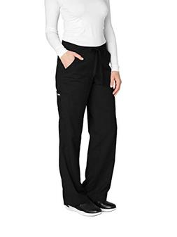 Grey's Anatomy Women's 4245 Junior Fit 4-Pocket Elastic Back