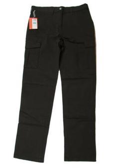 Haggar H26 Men's Cargo Pants 34 X 34 Brown Slim Fit #O1