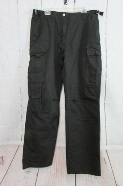 Harley Davidson Men's 34/36 Adjustable Black Cargo Pants. Ne