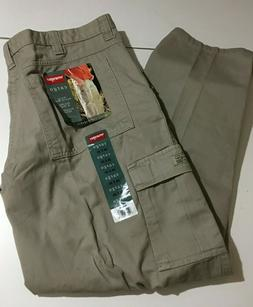 Wrangler Hero Mens Cargo Pants Straight Leg Size 36x30 NWT 7