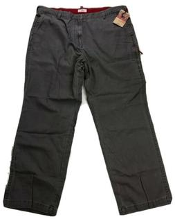 Dockers Iconic Mobile Cargo Flat Front Relaxed Gray Pants Me