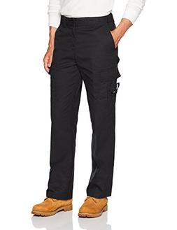 Dickies Men's Industrial Flex Comfort Waist EMT Pants, Black