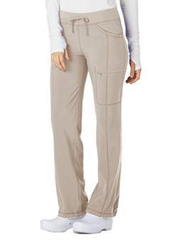 Cherokee Infinity 1123A Low Rise Drawstring Pant Khaki S