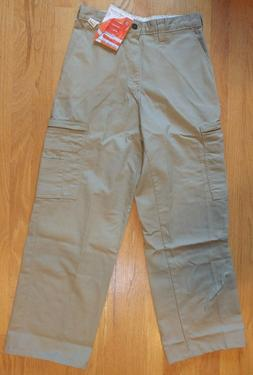 Dickies Insect Shield Mens Khaki Cotton Cargo Pants SZ 29X30