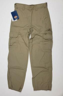 Dickies Insect Shield Repellent Boys Khaki Ripstop Cargo Pan