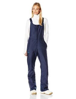 Women's Insulated Overalls Bib, Small, Blue Night