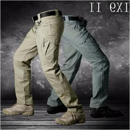 IX9 Men Military Tactical Cargo Pants Swat Army Training Hik
