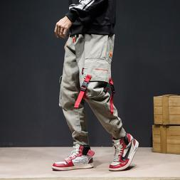 Japanese Style Fashion Joggers <font><b>Pants</b></font> Men