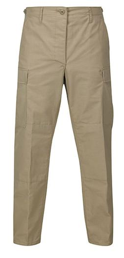 Khaki BDU Pants Tactical Military Style Trouser Battlerip Ri